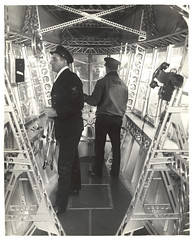 Photograph of Emergency Control Station of a Dirigible, ca. 1933 (The U.S. National Archives) Tags: aircraft aviation zeppelin airship nco usnavy usn goodyear dirigible lighterthanair navalaviation unitedstatesnavy shipswheel goodyearzeppelin ussakron usnationalarchives zrs4 ussakronzrs4 nara:arcid=6708565 goodyearzeppelincorporation