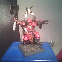 Chaos Lord (geekolas) Tags: space battle 40k warhammer warriors marines 40 000 wargames immortals necrons immortels