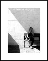 Soledad (hectoromero) Tags: light people blackandwhite blancoynegro sitting retratos mujeres blackandwithe thegalaxy rememberthatmomentlevel1