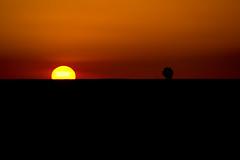 Sunset (Ivn Lozano photography) Tags: sunset sun sol night clouds canon dark atardecer spain ivan puestadesol puesta burgos lozano ladscape villamayor villamayordelosmontes