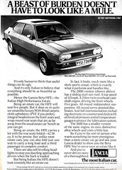 Lancia Beta HPE advert (retromotoring) Tags: ad beta advert lancia hpe autocarmagazine 10thseptember1977 highperformanceestate retromotoring:manufacturer=lancia retromotoring:model=beta