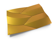 curve straight gold 1 1024 (VirtualTerritory) Tags: art gold design kunst craft gilbert cncrouter kunsthandwerk riedelbauch