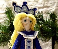 Snow Maiden (3) (McFiberNutt) Tags: thread miniature crochet folklore amigurumi
