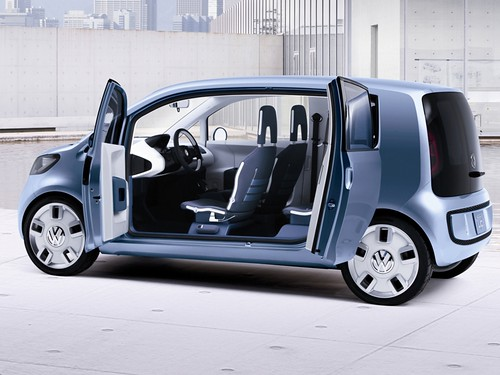 The Volkswagen Spaceup! concept car