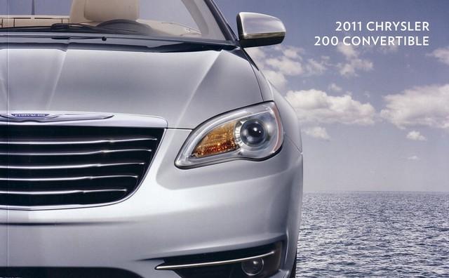 usa convertible 200 chrysler brochure 2011