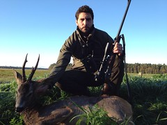 Roe deer hunting in Estonia/Caza del corzo en Estonia