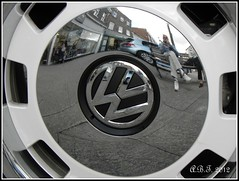 VW Hubcap (Alan B Thompson) Tags: picasa olympus 2012 sp590uz