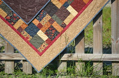 Disappearing 9-Patch (J Taylor Quilts) Tags: motion quilt free quilting disappearing 9patch