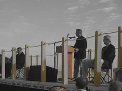 Astronaut Stephen K. Robinson's Speech Before Space Shuttle Endeavour Flew Over NASA Ames Research Center (flopper) Tags: space astronaut nasa shuttle speech endeavour stephenrobinson spotheshuttle sfendeavour2012