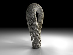 Klein Bottle (fdecomite) Tags: bottle klein geometry math mobius povray franzoni dumbbellgreogrio