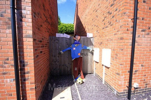 J Vardy's Scarecrow Party at the Heather Scarecrow Festival 2016