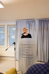 Så var en ny termin inledd! Pastorskandidaten Elin fick hålla tal till alla nya och gamla teologistudenter!