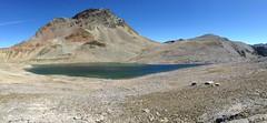 Lej da Pischa, Switzerland (echumachenco) Tags: mountainlake mountain scree colors water sky blue alps graubnden grisons switzerland schweiz suisse svizzera pontresina berninasuot fuorcladapischa lejdapischa