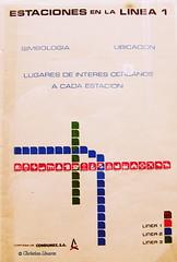 Estaciones en la lnea 1 (Christian Linarez) Tags: muac metrodf stcmetro stc 47 aniversario archivo metro subway subterrneo mexico city 1969