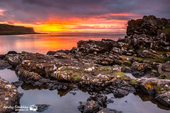 Meanish, Glendale, Isle of Skye (Andy Stables) Tags: sunset meanish milovaig loch pooltiel glendale skye scotland canon 70d