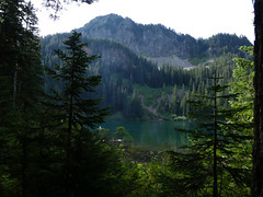 Annette Lake (Go4Hike) Tags: annettelake hiking hikingwashington washingtonhiking summerhiking nature landscape trail washingtontrails pacificnorthwesthiking pacificnorthwest i90corridortrails mountains lake summerhikinginwashington