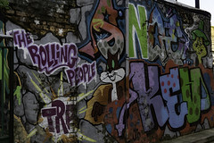 Hoxton station Graffitis (GABALICIOUS CANDID PHOTOGRAPHY) Tags: london londonstreetphotography streetart hoxton station graffitis graffiti londonstreetartstyles