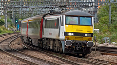 90002 (JOHN BRACE) Tags: 1988 brel crewe built class 90 bo electric loco 90002 seen stratford abellio greater anglia livery named eastern daily press 1870 2010