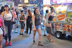 Times Square people August 2016 (zaxouzo) Tags: timessquare august 2016 nikond90 people public street fashion candid nyc group outdoor