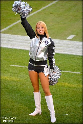 2015 Oakland Raiderette Kelsi @ Coliseum