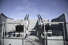 40mm Bofors Guns (dcnelson1898) Tags: mobile alabama mobilebay battleshipmemorialpark ussalabama bb60 southdakotaclassbattleship usnavy militaryhistory warship worldwar2 gun antiaircraft