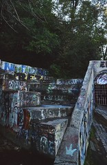 color steps (hshatlden) Tags: graffiti urbanart urbanexploring walkingtrail minnehaha nikontop nikonphotograph nikond3100 nikon 2016 minnesota mn minneapolis