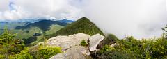 _Dix blocking clouds (leewdegraff) Tags: dix mountain range adk adirondack hike summit clouds