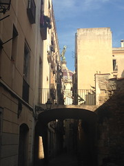 Barcelona Street (MargieMMM) Tags: barcelona spain travel architecture art streetscapes