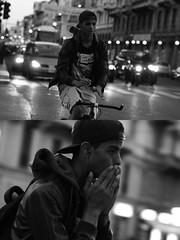 [La Mia Citt][Pedala] senza mani (Urca) Tags: milano italia 2016 bicicletta pedalare ciclista ritrattostradale portrait dittico bicycle bike biancoenero blackandwhite bn bw nikondigitale mir 889119