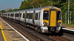387112 (JOHN BRACE) Tags: 2014 bombardier derby built class 387 electrostar emu 387112 seen horley2014 horley station thameslink white livery