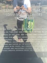 Staples center area los angeles ca (matthew valencia) Tags: staplescenter losangeles la california metro pico station losangeleslakers lakers kareemabduljabbar jerrywest magicjohnson kobebryant
