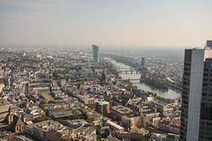 2016 Innenstadt und Ostend von Frankfurt (mercatormovens) Tags: frankfurt main hochhuser ezb innenstadt ostend architektur stadtlandschaft paulskirche maintower aussichtsplattform altstadt