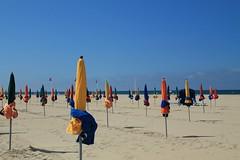 Plage Deauville. (le.photographe) Tags: normandie soleil plage
