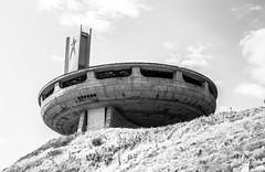 BUZLUDZHA-36 (RAFFI YOUREDJIAN PHOTOGRAPHY) Tags: buzludzha bulgaria spaceship soviet architecture ruin graffiti communist derelict abandoned relic distasteful building monument