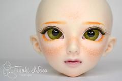 Minifee FLAM Face-up 2.0 (Uchan88) Tags: fairyland minifee flam event head faceup makeup commission custom tsukineko
