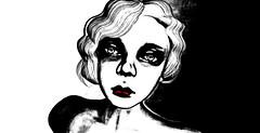 Sunken Eyes ( ChimKami  My Vision & Experimentation) Tags: illustration