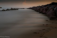 The Block! (Doreen Bequary) Tags: beach sand oldharbor blockisland island rhodeisland longexposure d500 ocean rocks rockycoastline