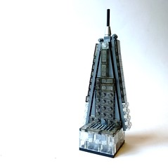 WiP failure (JETfri) Tags: lego microscale london shard