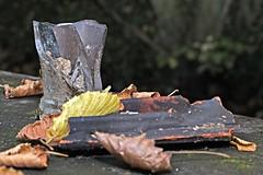 Stillleben an der Pader 2 (DianaFE) Tags: abfall mll makro glas kunst stilleben tiefenschrfe schrfentiefe dianafe dianae
