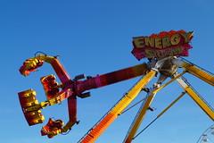 DSC02241 (A Parton Photography) Tags: fairground rides spinning longexposure miltonkeynes fireworks bonfire november cold
