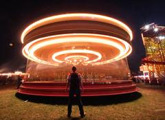 Merry go round (phill_fisher) Tags: merrygoround longexposure singleexposure nopostproduction nophotoshop lighttrails lightartphotography fair
