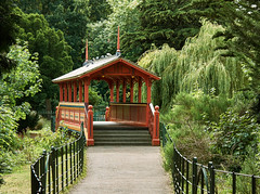 The Swiss Covered Bridge (Tim Ravenscroft) Tags: bridge swiss birkenhead wirral uk covered park