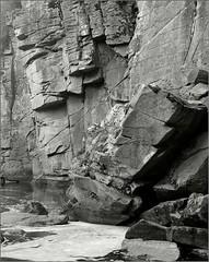 3 (Yuriy Sanin) Tags: buki ukraine blackandwhite bw river rocks foma largeformat nagaoka 4x5 yuriy sanin xtol