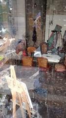 Artists studio Barcelona (Brother G) Tags: art artist barcelona bcn artista studio estudio spain espana reflection shop