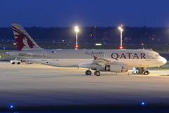 Qatar Amiri Flight Airbus A320-232 A7-AAG (EK056) Tags: qatar amiri flight airbus a320232 a7aag dsseldorf airport