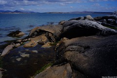 Beach near Roundstone, Ireland (Maurice Mourad) Tags: colorskopar 214 connamaragh ireland connemara