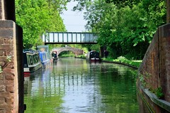 2016 05 29 103 Link between Stratford and Grand Union canals (Mark Baker.) Tags: 2016 baker eu europe mark may avon bridge britain british canal day england english european gb grand great junction kingdom kingswood link outdoor photo photograph picsmark rural spring stratford uk union united upon warwickshire