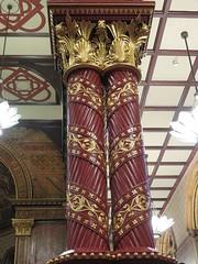 UK - London - Open House London 2016 - King's College Chapel - Columns (JulesFoto) Tags: uk england london kingscollegechapel aldwych georgegilbertscott interior columns