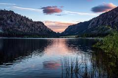 Alta Lake (writing with light 2422 [NOT PRO]) Tags: altalake altalakestatepark washingtonstate oldgoatmountain pateros bluehour lake clouds landscape richborder sonya77 sunset