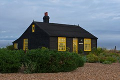 Prospect Cottage, Dungeness (Keith Burton) Tags: uk house beach kent cottage pebbles dungeness derekjarman prospectcottage